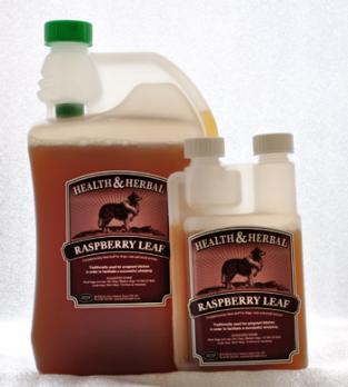Animal Health Натуральная добавка для собак Raspberry Leaf (Листья малины)