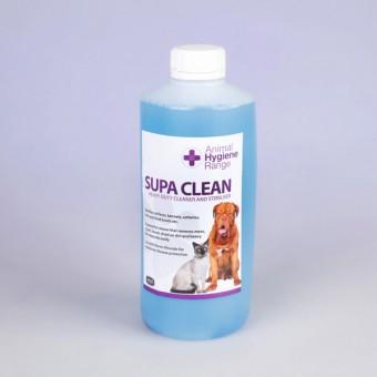 Дезинфицирующее средство - SupaClean  для мытья полов, боксов и любых поверхностей