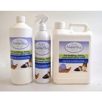 Средство для уборки за животными, дезинфицирующее   - NeutraHaze Pet Bedding, fabric Room Spray -  для лежанок, тканевых поверхностей и комнатного воздуха.