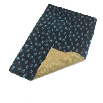 Меховой коврик для собак на нескользящей основе Bronte Glen, синий