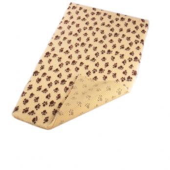 Меховой коврик для собак на нескользящей основе Bronte Glen, бежевый