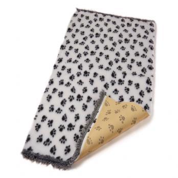 Меховой коврик для собак на нескользящей основе Bronte Glen, белый