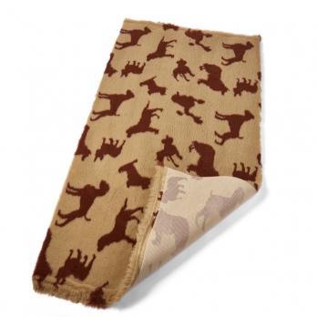 Меховой коврик для собак на нескользящей основе Bronte Glen Multi Dog