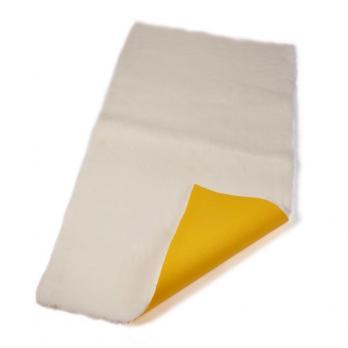 Меховой коврик для собак Super Gold белый.
