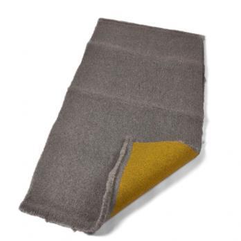 Меховой коврик для собак Super Gold серый.